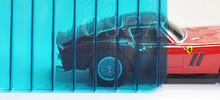 Сотовый поликарбонат ТМ Oscar 8мм бирюза 2100х6000мм