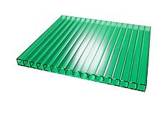 Сотовый поликарбонат ТМ Oscar 8мм зеленый 2100х6000мм