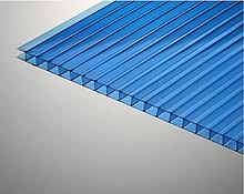 Сотовый поликарбонат ТМ Oscar 8мм синий 2100х6000мм
