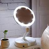 Косметическое зеркало с LED подсветкой W-12, фото 2