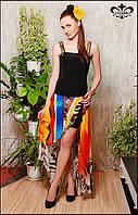 """Летнее женское платье """"Мальва"""" №2(топ-блузон+юбка), фото 1"""