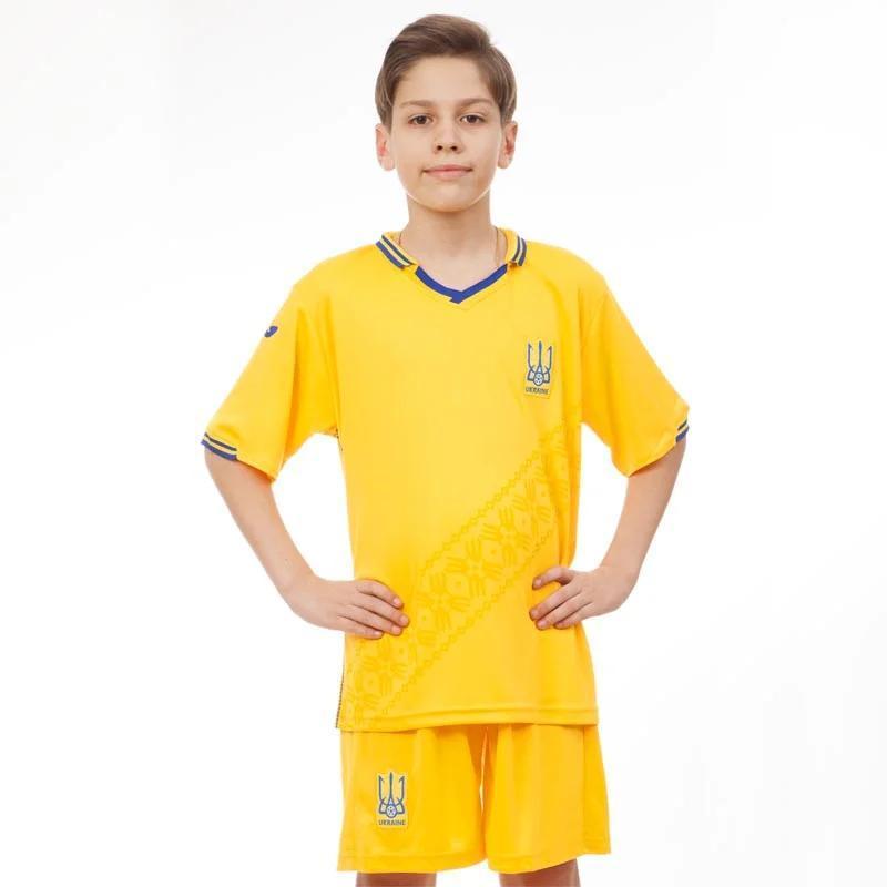 Форма дитяча футбольна збірна УКРАЇНА 2019 CO-8173 (репліка) розмір 20