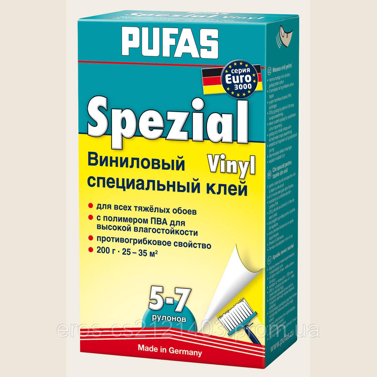 Клей обойный PUFAS EURO 3000  специальный виниловый 200г  - DEN-mix в Киеве