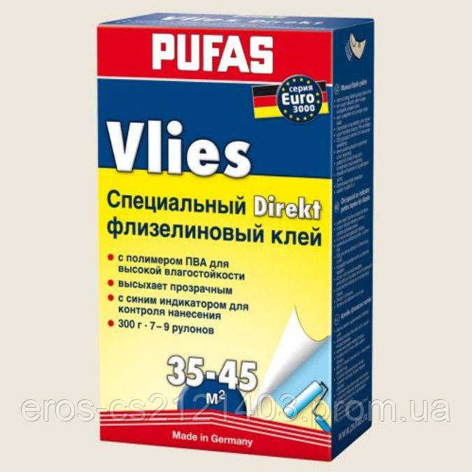 Клей для флизелиновых обоев Pufas EURO 3000  с индикатором. - DEN-mix в Киеве