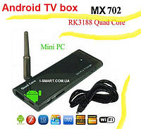 MX 702 RK3188  Quad Core мини-ПК с Android 4.1 Bluetooth4.0 1GB/8GB WIFI HDMI TV Box