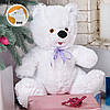 Белый плюшевый медвежонок Малыш