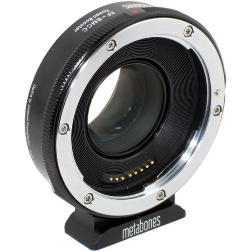 Metabones Canon EF Lens to Blackmagic 2.5k Cinema Camera T Speed Booster (Micro 4/3 Mount) (MB_SPEF-BMCC-BT1)