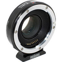 Metabones Canon EF Lens to Blackmagic 2.5k Cinema Camera T Speed Booster (Micro 4/3 Mount) (MB_SPEF-BMCC-BT1)