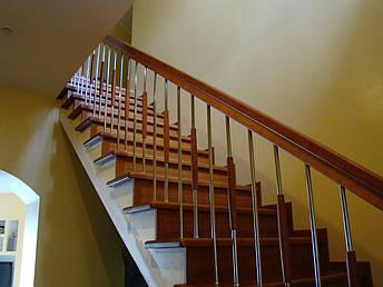 Лестницы из дерева, фото 2
