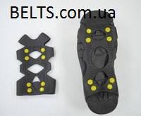 Средство от скольжения ― ледоступы для обуви на 8 шипов (Размер XL)