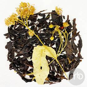 Чай черный с добавками Липовый Цвет рассыпной весовой чай 50 г