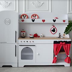 """Детская деревянная кухня """"Микки Маус"""""""