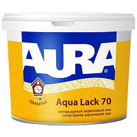"""ТМ """"Eskaro"""" Aura Aqua Lack 20, 70 - Интерьерный акриловый лак."""