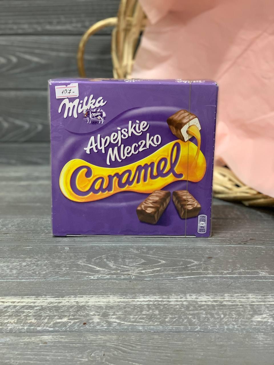 Цукерки Milka Alpejskie Mleczko Caramel