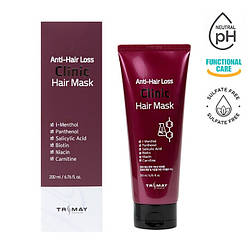 Безсульфатная питательная маска против выпадения волос Trimay Anti-Hair Loss Clinic Hair Mask