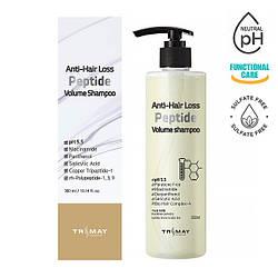 Безсульфатный шампунь с пептидами против выпадения волос Trimay Anti-Hair Loss Peptide Volume Shampoo