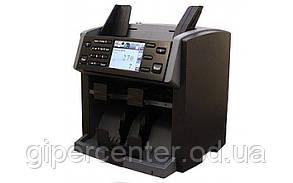 Счетчик-сортировщик банкнот PRO NC-6100 с определением номинала (два кармана), УФ-детекция, магнитная детекция