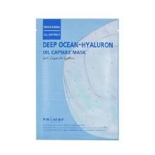 Глубокоувлажняющая капсульная маска с гиалуроновой кислотой Trimay Deep Ocean-Hyaluron Oil Capsule Mask