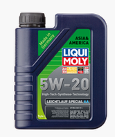 Синтетическое моторное масло Liqui moly (Ликви моли) LEICHTLAUF SPECIAL АА 5W-20  1л.