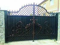 Изготовление металлических ворот в Херсоне, продажа и установка.