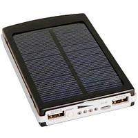 Солнечный аккумулятор Power Bank на 20000 mAh, фото 1