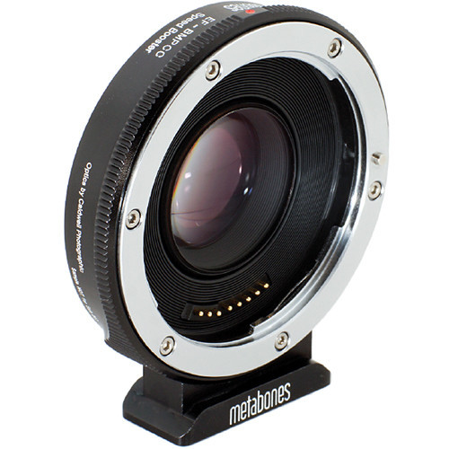 Metabones Canon EF Lens to Blackmagic Pocket Cinema Camera Speed Booster (MB_SPEF-BMPCC-BM1)