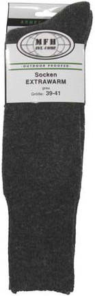 Тёплые носки MFH EXTRA WARM Grey 13653M, фото 2
