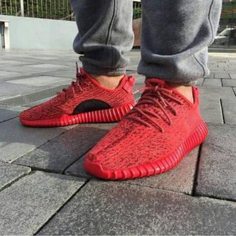 """Мужские кроссовки Adidas Yeezy 350 Boost  """"Red October"""""""