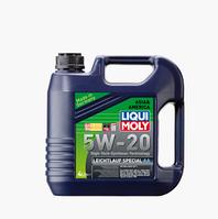 Синтетическое моторное масло Liqui moly (Ликви моли) LEICHTLAUF SPECIAL АА 5W-20  4л.