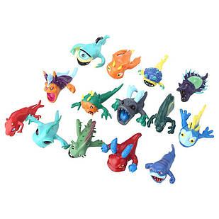 Набор игрушечных фигурок Слагтерра 2 ( Slugterra ) 14 шт
