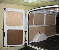 Фанера для обшивки фургона, кузова