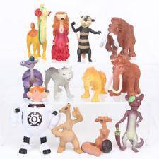 Іграшки фігурки Льодовиковий період 12 шт