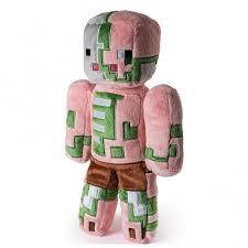Плюшевый Зомби свиночеловек Zombie Pigman  32 см