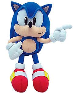 Мягкая игрушка Супер Соник ( Sonic ), 45 см