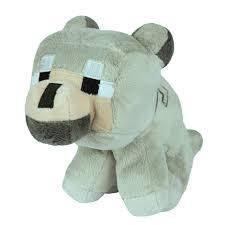 Игрушка Волк из Minecraft Baby Wolf 21 см