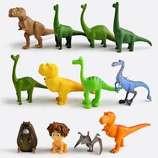 Набор игрушек фигурок Хороший динозавр The Good Dinosaur