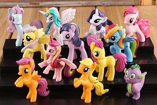 Набор игрушки Май Литл Пони - My Little Pony,12 шт