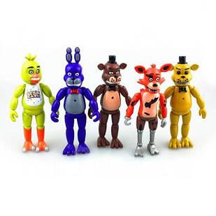 Игрушки 5 ( пять ) ночей с Фредди, фигурки аниматроник, ФНАФ - five nights at freddy's, 5 шт