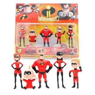 Іграшки фігурки Суперсімейка 2 в упаковці