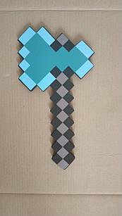 Топор Майнкрафт (Minecraft), 40 см