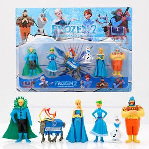 Игрушки набор Фрозен Холодное сердце Frozen 2 Анна-Эльза-Кристофф-Олаф