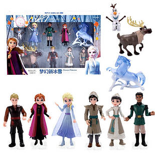 Набор игрушек Фрозен Холодное сердце 2 Frozen Анна-Эльза-Кристофф-Олаф