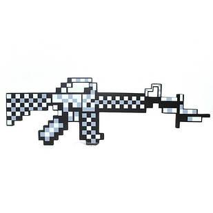 Пиксельный железный автомат Minecraft майнкрафт. Оригинал