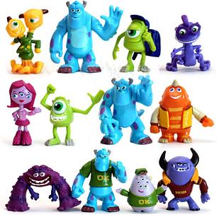 Набор игрушек фигурки Университет монстров