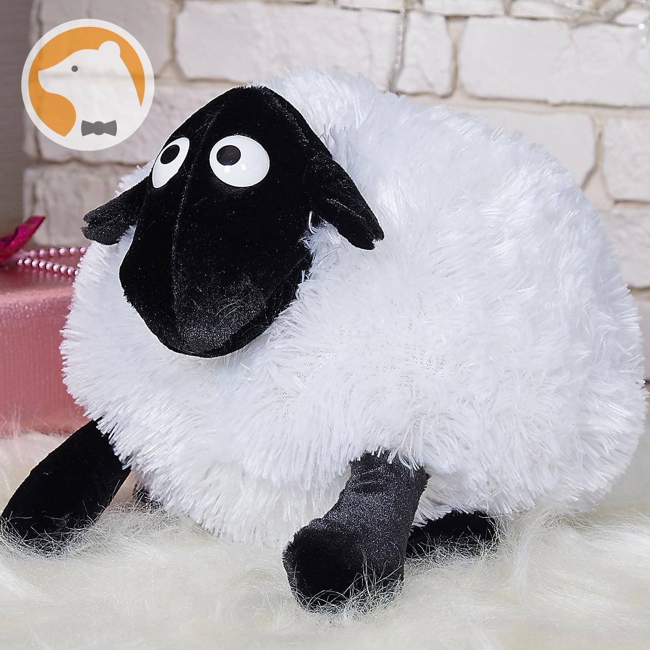 Мягкая игрушка баранчик Шон 50 см, белый