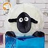 Мягкая игрушка баранчик Шон 50 см, молочный, фото 2