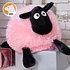 Мягкая игрушка баранчик Шон 50 см, розовый