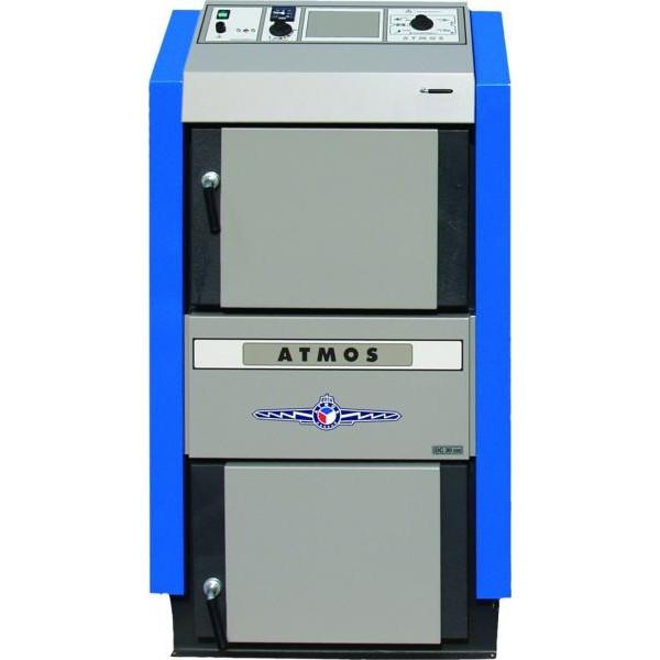 Пиролизные газогенераторные котлы на твердом топливе Atmos (Атмос) DC 32 GS