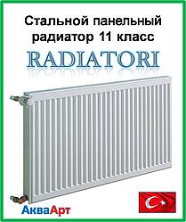 Стальной радиатор Radiatori 11k 500*400 боковое подключение