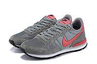 Женские кроссовки Nike Internationalist grey-red